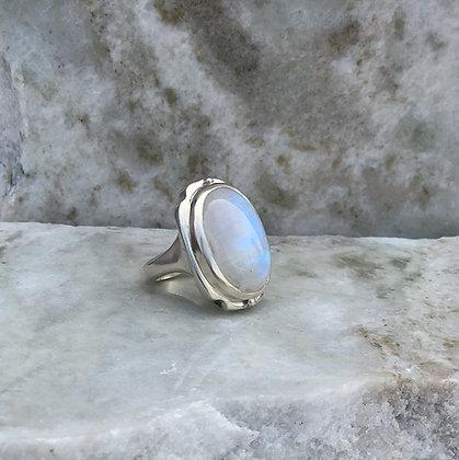 Moonstone 'Noveau` Ring