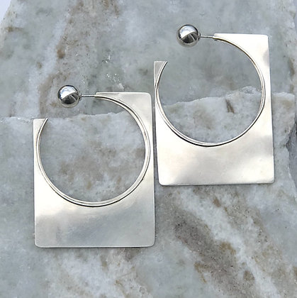 Eze Rectangle Earrings