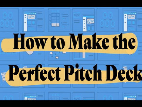 13 Slides You Need to Have in Your Pitch Deck