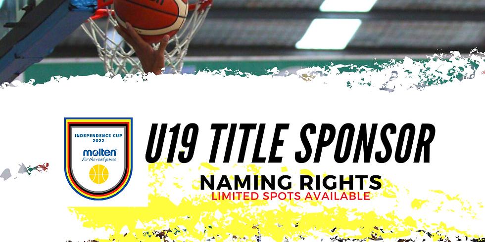 U19 SPONSOR - NAMING RIGHT