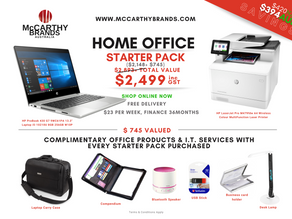Anniversary Offer $394 SAVINGS | Introducing HP Partner in Commercial Devices- Business Starter Pack