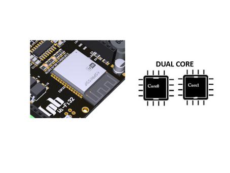 Usando o Dual Core do ESP32 – Processamento Paralelo