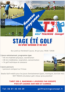 stage golf enfant Nice, stage golf enfant cannes, stage golf junior, golf et sport alpes maritimes