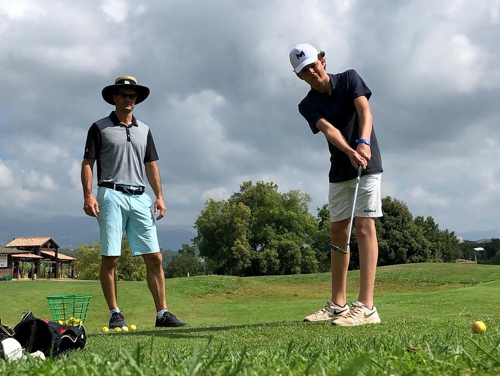 club de golf - golf perfectionnement avec golf training concept, Cagnes sur mer