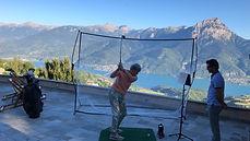 cours de golf chez vous, coaching golf a la maison