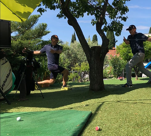 Trio gagnant golf professionnel