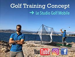 VIP cours de golf a domicile