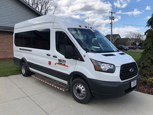 Ability Works Transportation vehicle