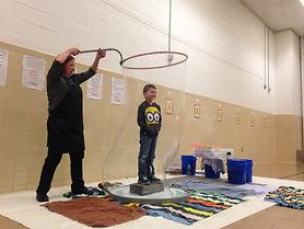 Huron City School Bubble Day