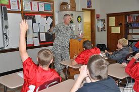 J. Hagy Career Day at Huron Schools