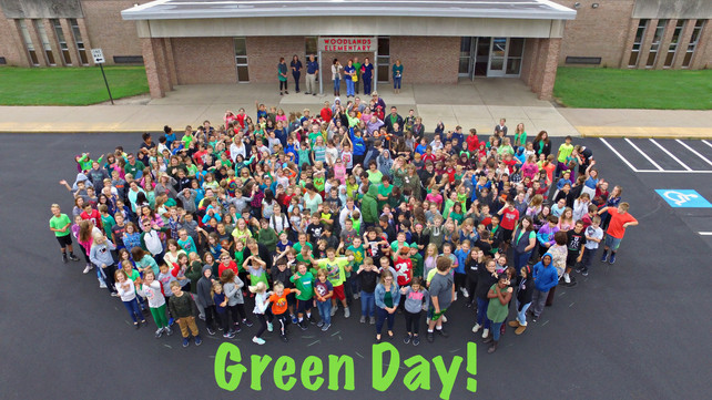 Huron Woodlands Green Day