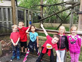 Huron Students Zoo Field Trip