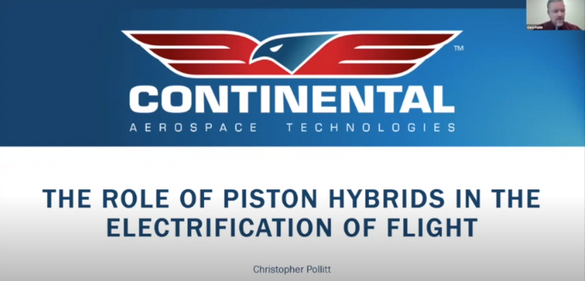 The Role of Piston Hybrids in the Electrification of Flight