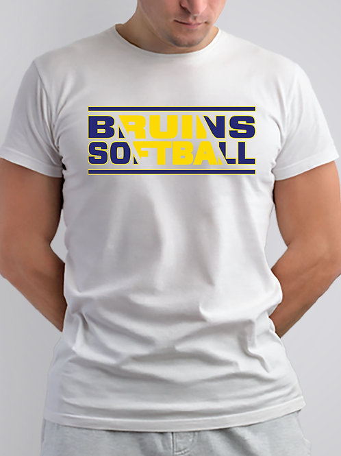 4 Bruins Short Sleeve Cotton or Dri Fit