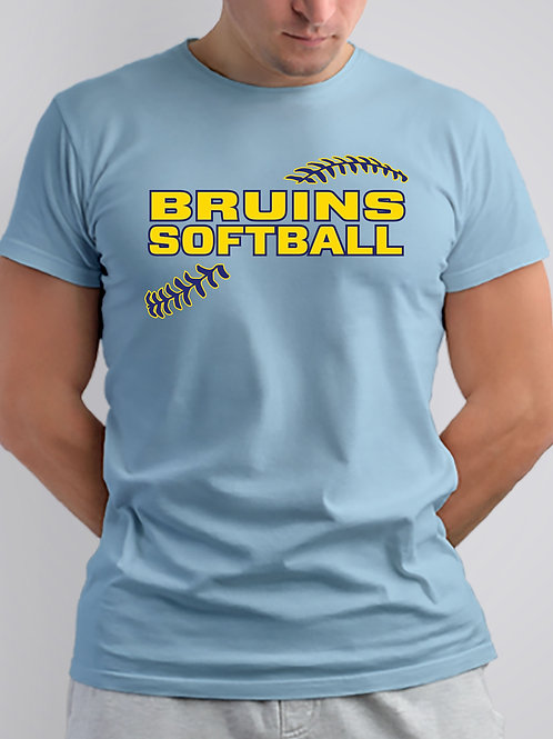3 Bruins Short Sleeve Cotton or Dri Fit