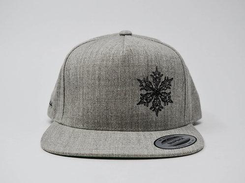 Grey Flat Bill Cap