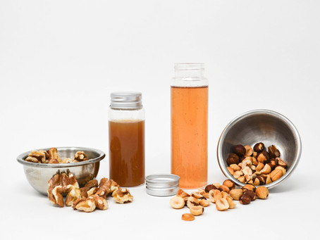Nutty Simple Syrups