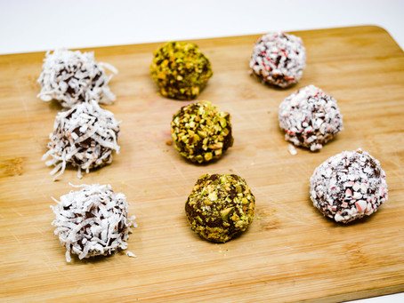 Boozy Chocolate Truffles