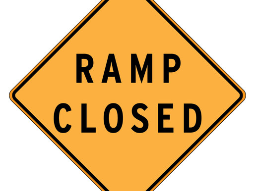 Ramp Closures for the Week of April 27-May 2