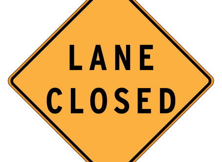Lane closures for August 17-23