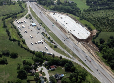 Eastbound I-70 Truck Staging Area Opens