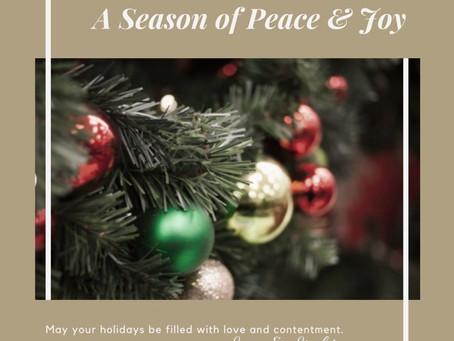 Seasons Blessings!