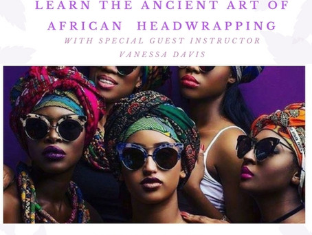 New Class: The Art of African Head Wrapping