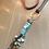 Thumbnail: Amazonite Stack & Leather Necklace 91902