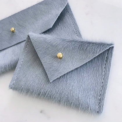 Slate Blue Card Wallet