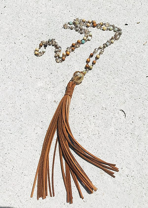 Long Leather Tassel