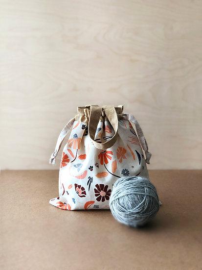 Kiko Drawstring Bag - PDF pattern
