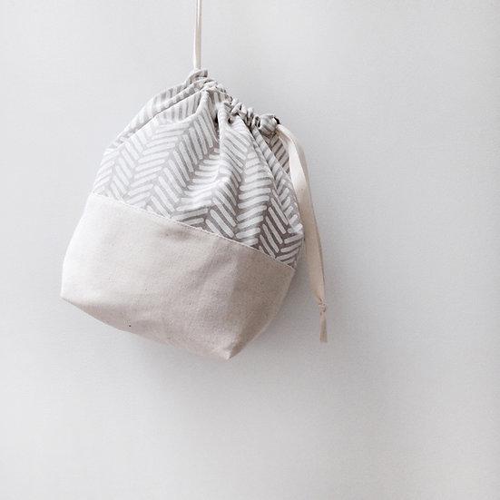 Leah Drawstring Bag PDF Pattern