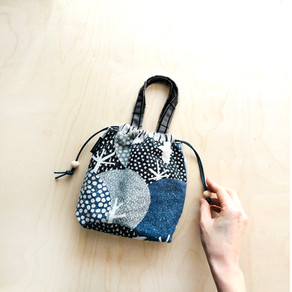 New pattern - Kiko drawstring bag