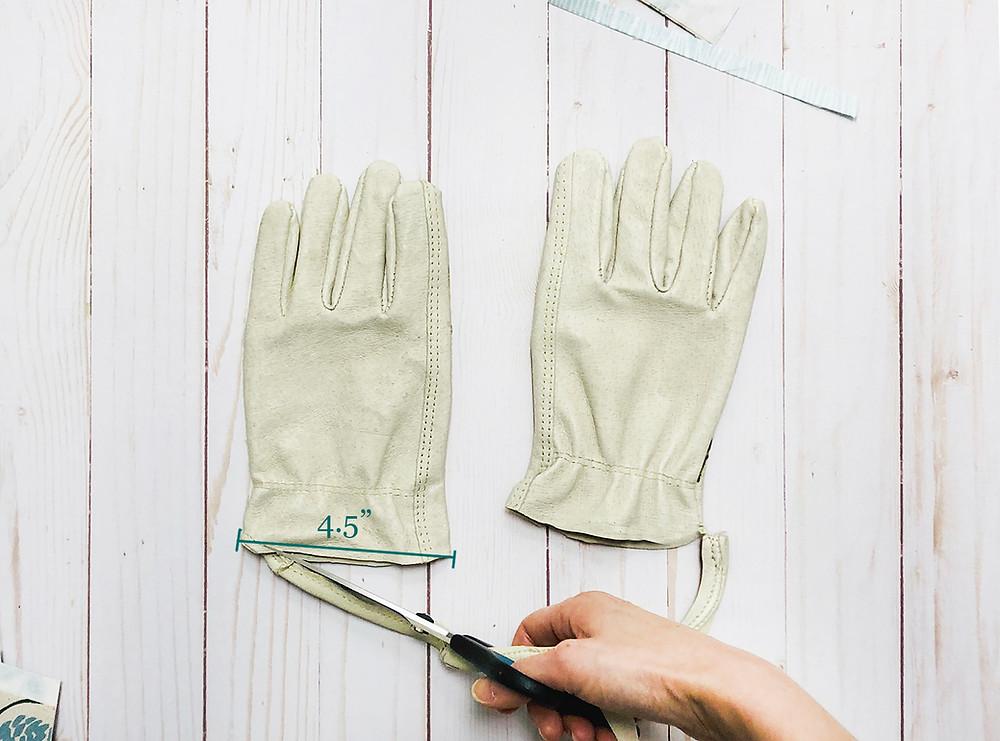 Garden Gloves - step 4