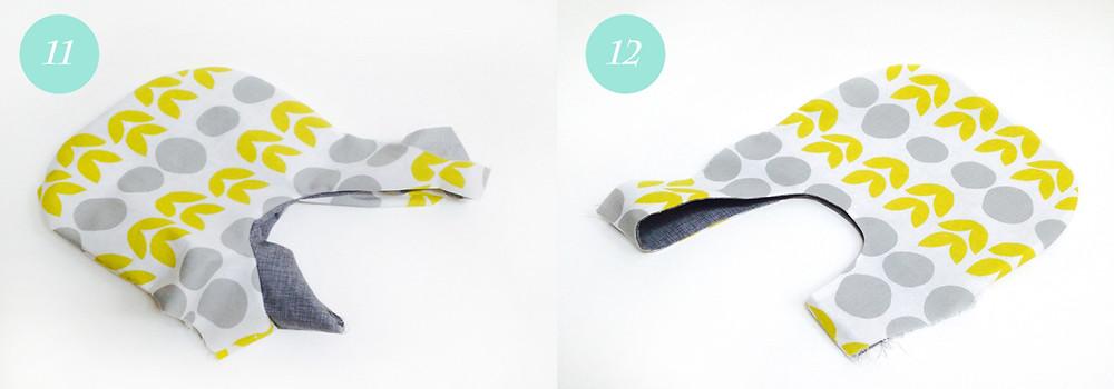 Knot bag - steps 11 & 12
