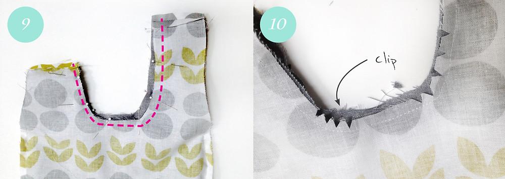 Knot bag - steps 9 & 10