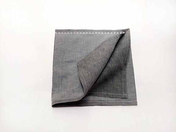 Origami Bento Bag - step 5 / Indigobird Design