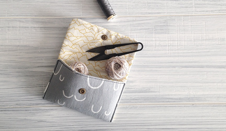 Nana pouch pattern by Indigobird Design
