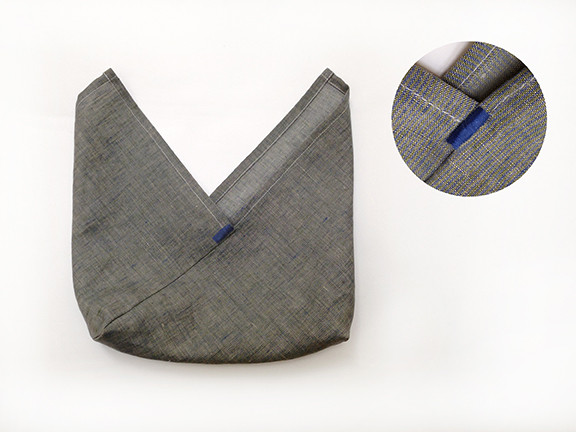 Origami Bento Bag - step 7 / Indigobird Design