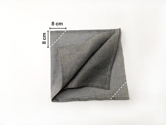 Origami Bento Bag - step 6 / Indigobird Design