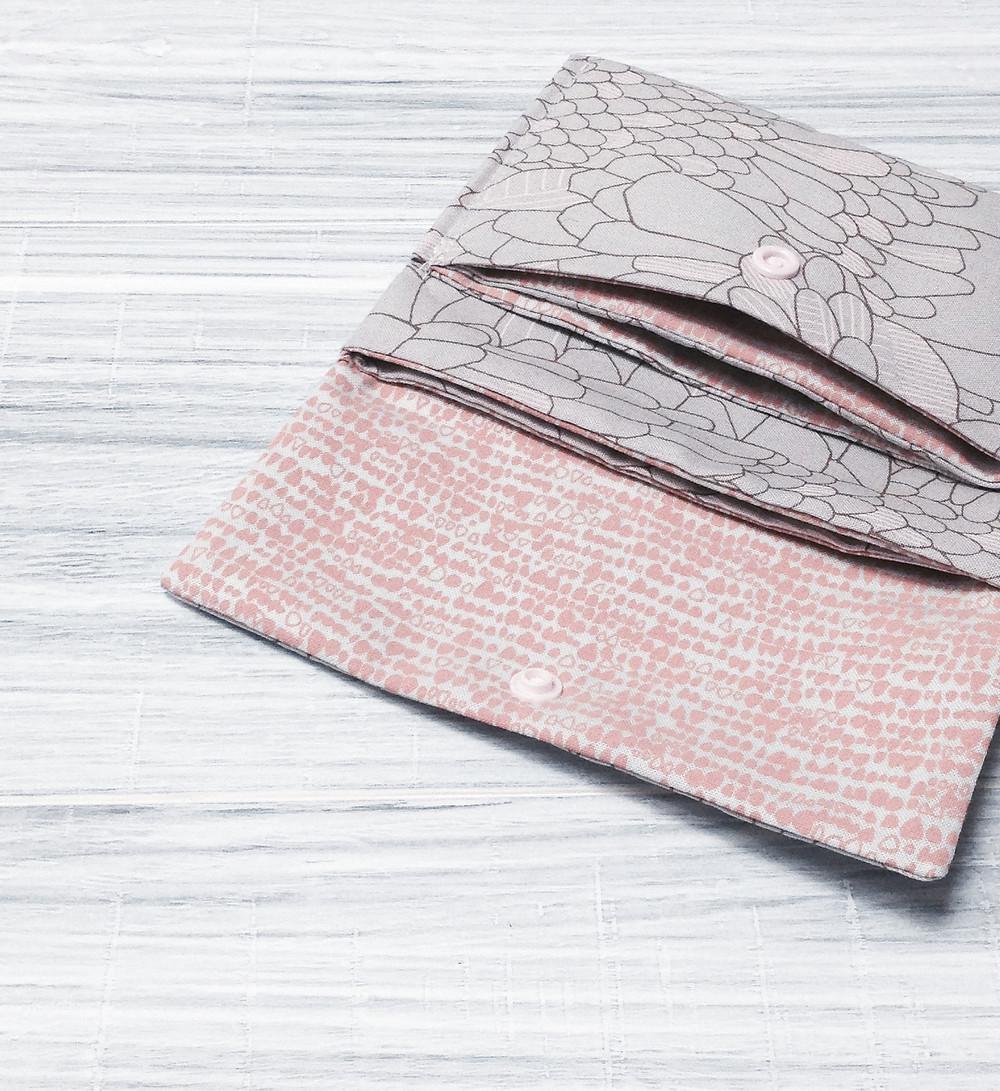 origami pouch_indigobird design