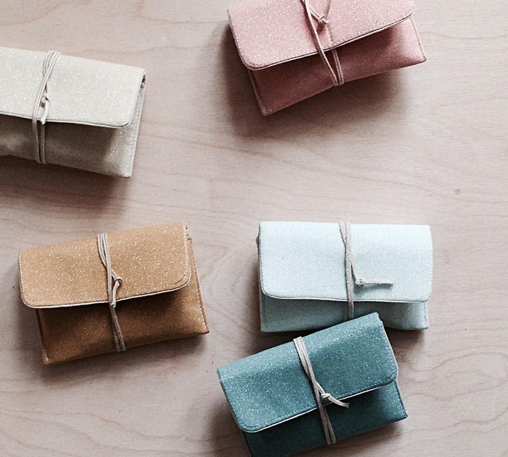 Nana Pouch - glimmer solids