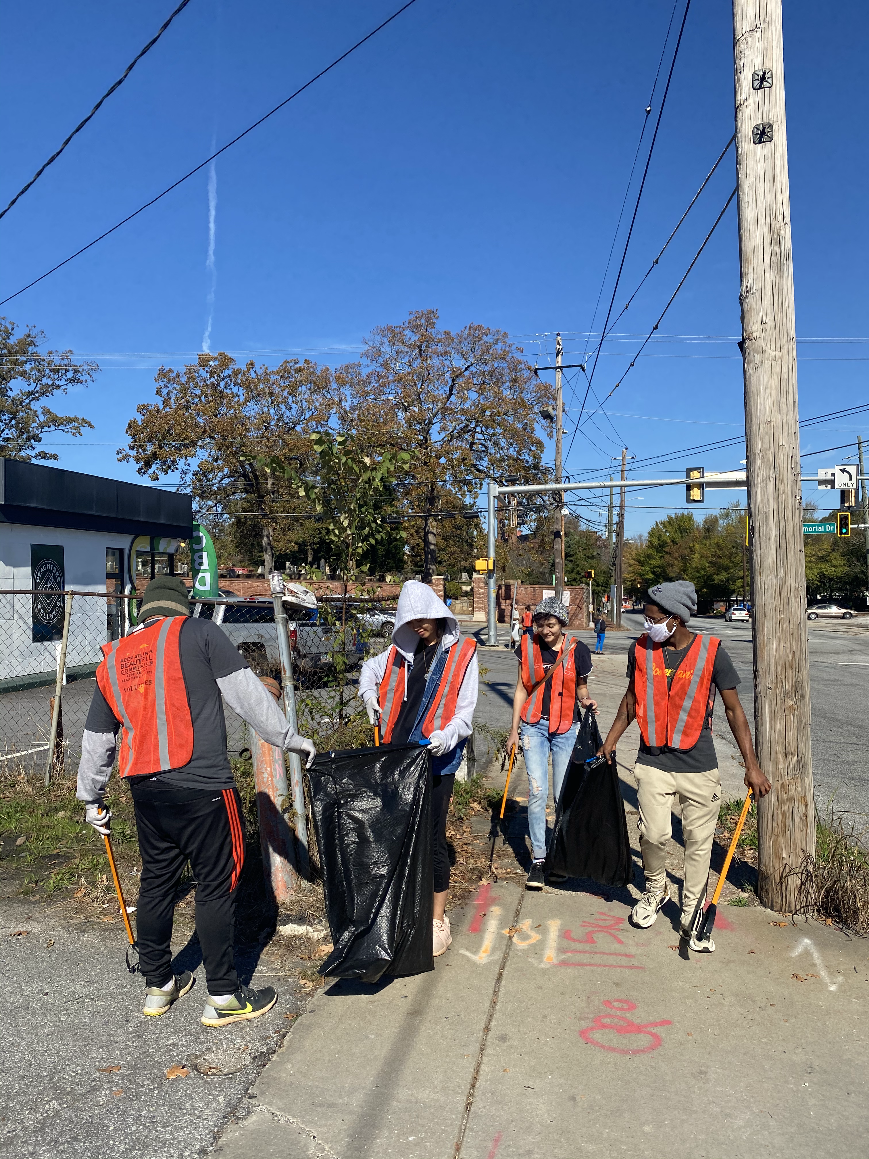 Boulevard Road Clean up