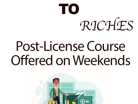 In-Class Post-License on Weekends!