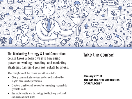 Marketing Strategy and Lead Generation Class