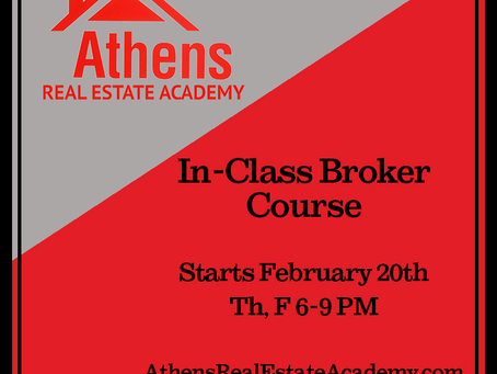 In-Class Broker Course