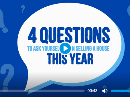 Four Questions to Ask Yourself When Selling a Home This Year
