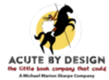 Acute by design, book publishing in Connecticut, horse logo, children's books, CT