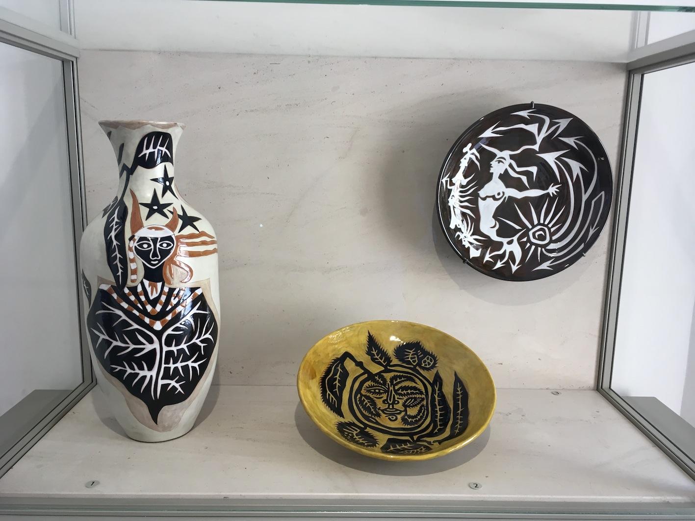 Céramiques, Sant Vicens, années 50