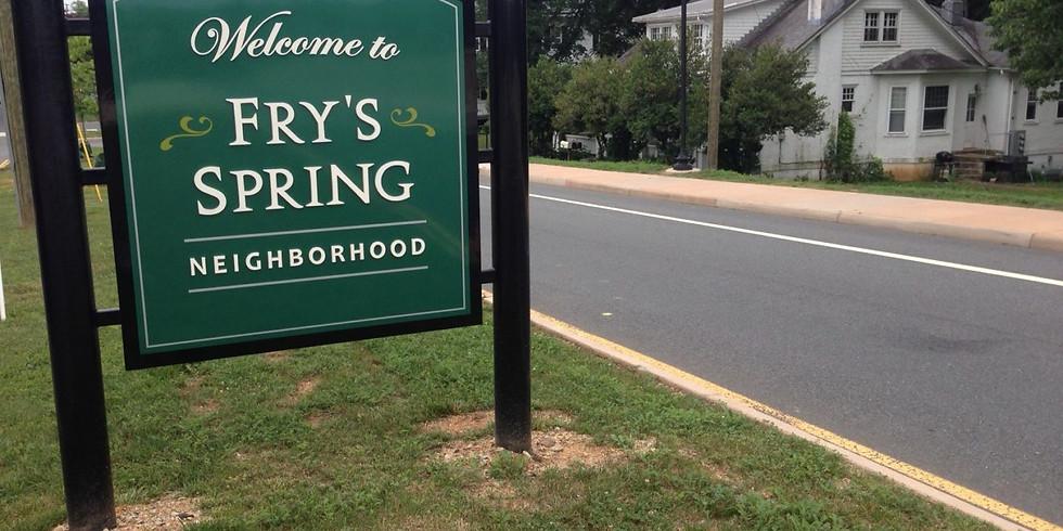 Fry's Spring Neighborhood Association Meeting